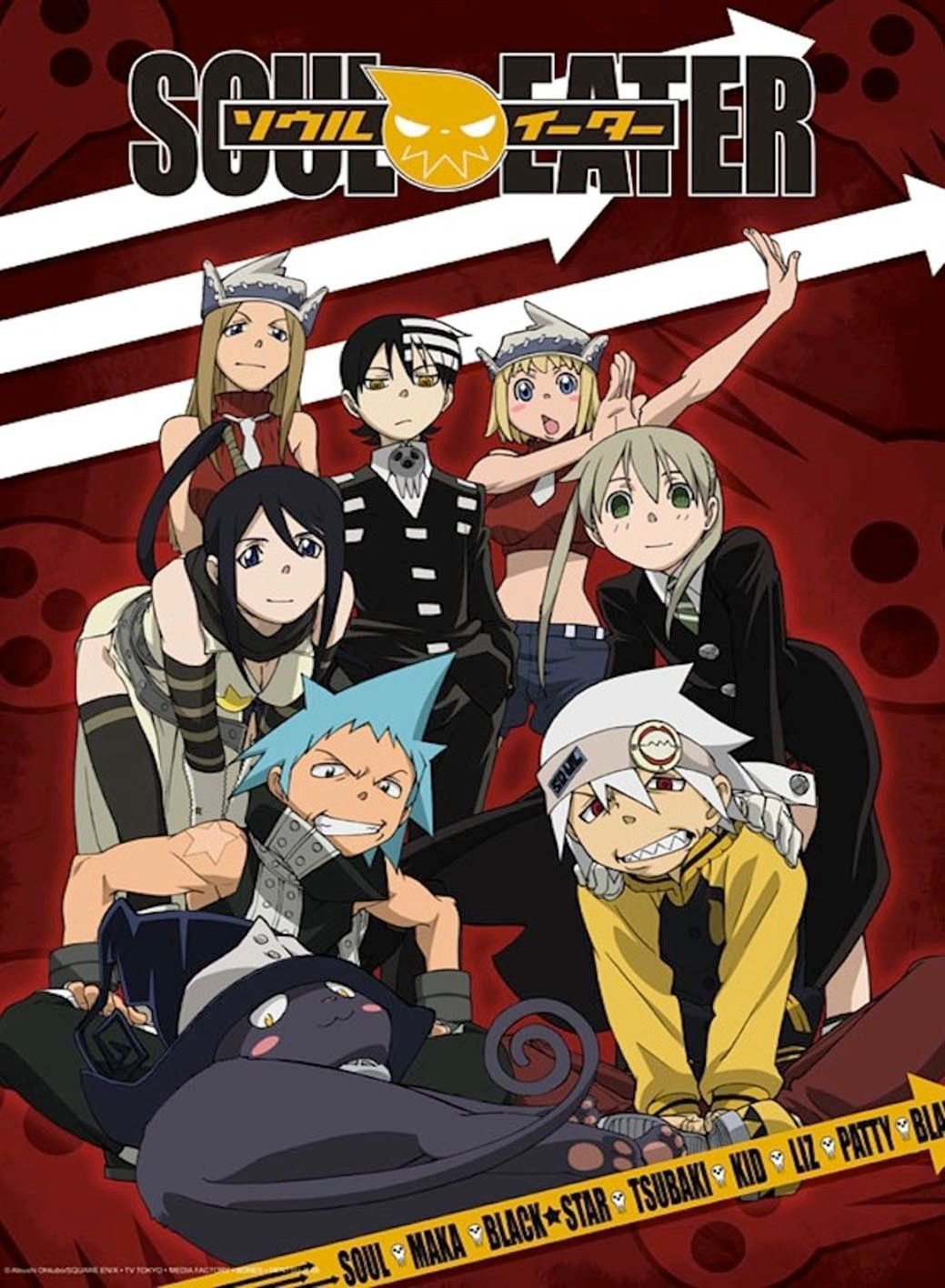Soul Eater Anime Art 32x24 Poster Decor