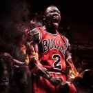 Nate Robinson Basketball Star Art 32x24 Poster Decor