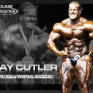 Jay Cutler Muscle Male Art 32x24 Poster Decor