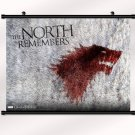 Game Of Thrones Poster With Wall Scroll Decor