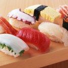Japanese Cooking Sushi Art 32x24 Poster Decor