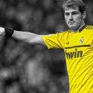 Iker Casillas Goalkeeper Art 32x24 Poster Decor