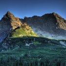 Carpathian Mountains Art 32x24 Poster Decor