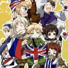 Hetalia Anime Art 32x24 Poster Decor