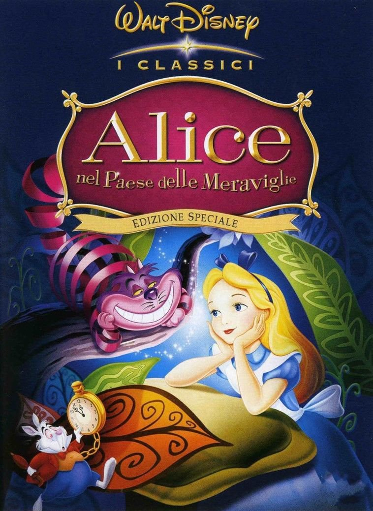 Alice In Wonderland Movie Art 32x24 Poster Decor