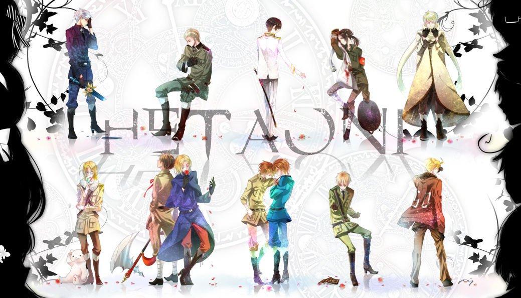 Hetalia Anime Art 32x24 Poster Decor
