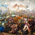 League Of Legends Game Art 32x24 Poster Decor
