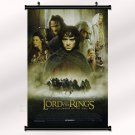 The Lord Of The Rings Poster With Wall Scroll Decor