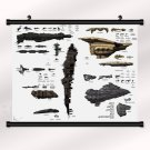 Eve Online Game Poster With Wall Scroll Decor