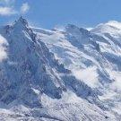Alps Snow Mountains Art 32x24 Poster Decor