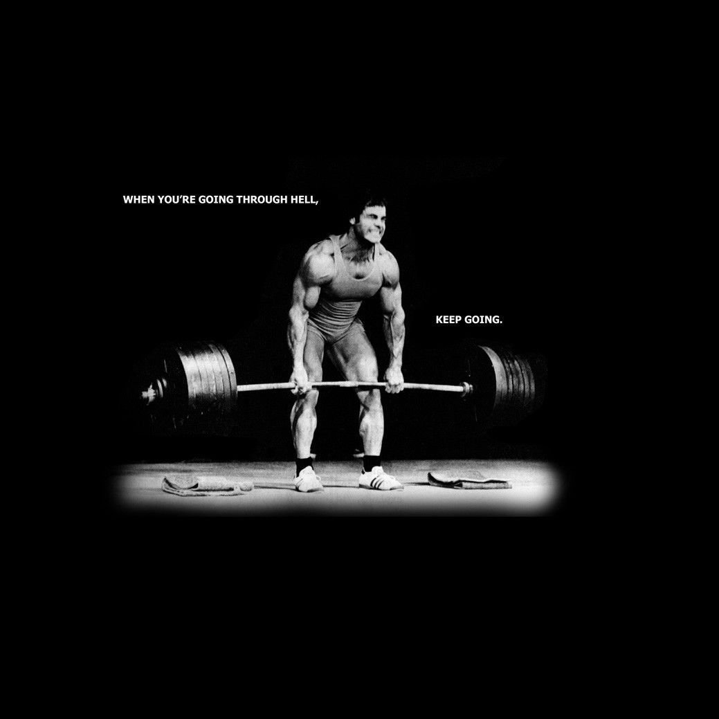 Bodybuilding Motivational Art 32x24 Poster Decor