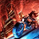 Shadow The Hedgehog Game Art 32x24 Poster Decor