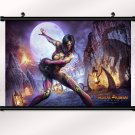Mortal Kombat 9 Game Poster With Wall Scroll Decor