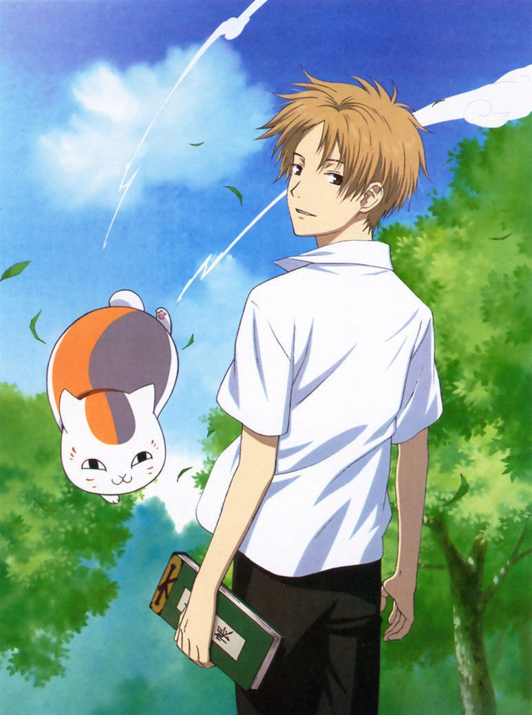 Natsumes Book Of Friends Anime Art 32x24 Poster Decor