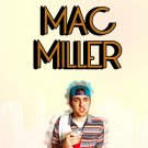 Mac Miller Music Star Art 32x24 Poster Decor