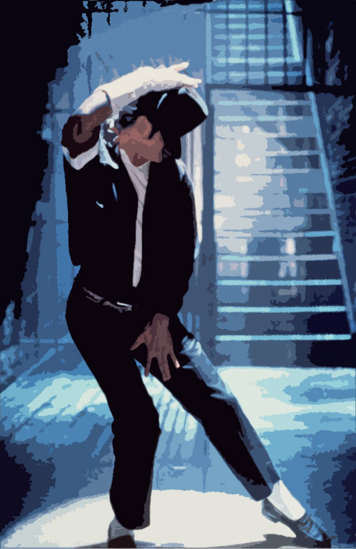 Michael Jackson Music Star Art 32x24 Poster Decor
