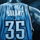 Kevin Durant Basketball Star Art 32x24 Poster Decor