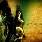 Green Arrow TV Show Art 32x24 Poster Decor