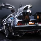 Back To The Future DMC 12 Car Art 32x24 Poster Decor