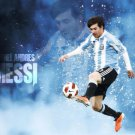 Lionel Messi Football Star Art 32x24 Poster Decor