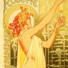 Absinthe Blanqui Vintage French Style Art 32x24 Poster Decor