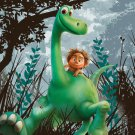 The Good Dinosaur Movie Art 32x24 Poster Decor