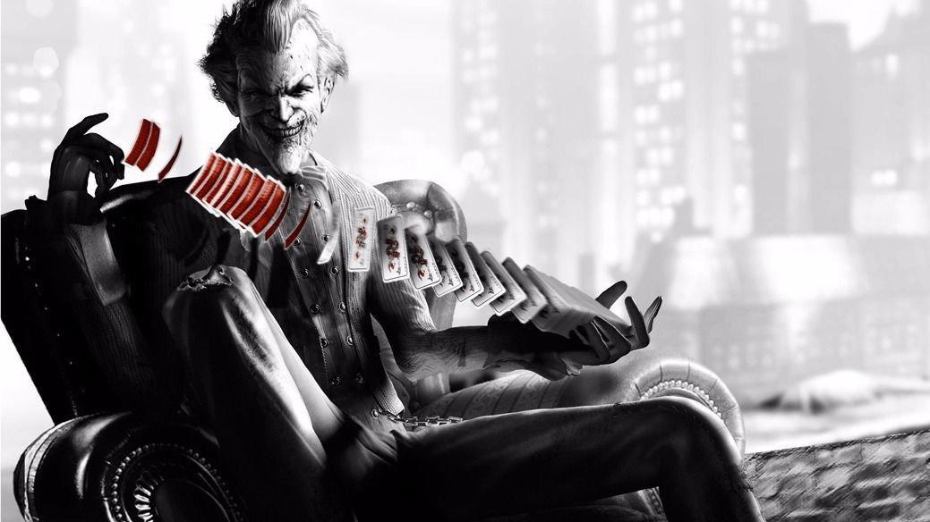 Joker Batman The Dark Knight Art 32x24 Poster Decor