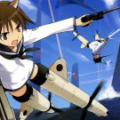 Strike Witches Japanese Manga Art 32x24 Poster Decor