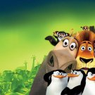 Madly Madagascar Movie Art 32x24 Poster Decor