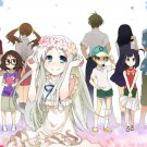 Anohana Anime Art 32x24 Poster Decor