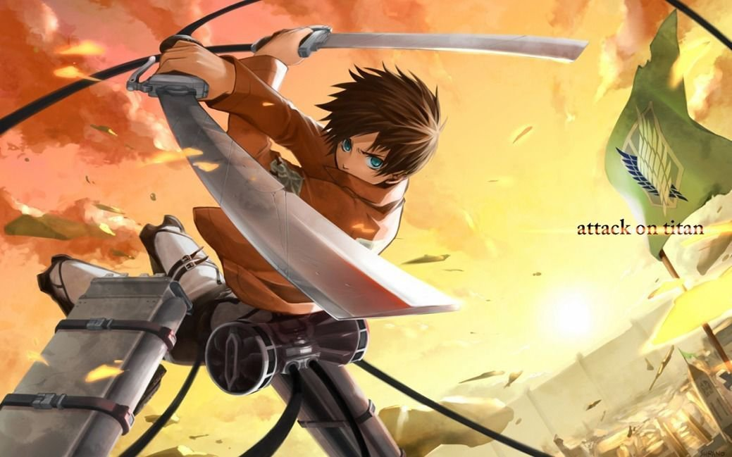 Attack On Titan Manga Anime Art 32x24 Poster Decor