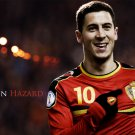 EdenHazard Football Soccer Star Art 32x24 Poster Decor