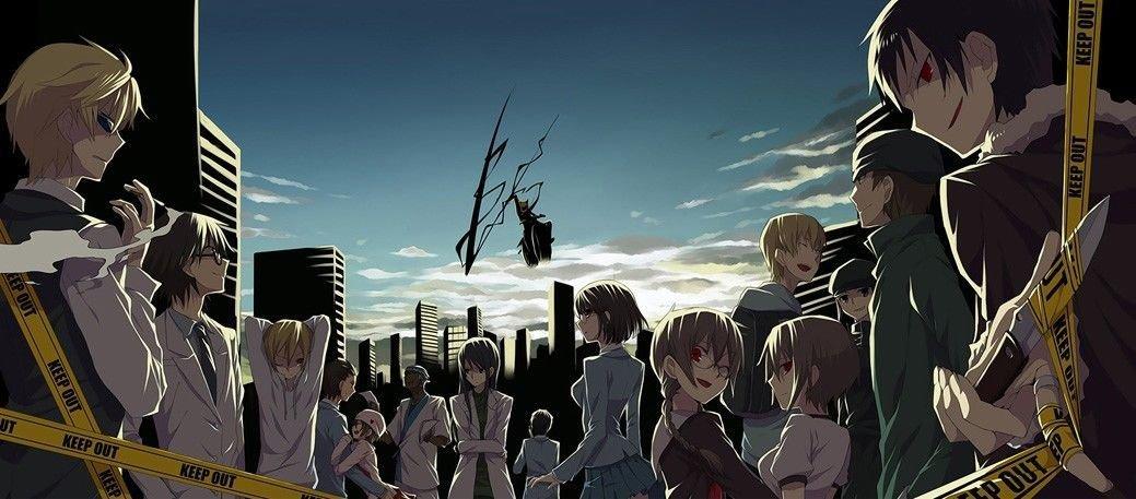 Durarara TV Anime Art Poster Decor