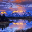 Grand Teton Best Sell Art 32x24 Poster Decor