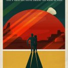 Explore Mars Art 32x24 Poster Decor