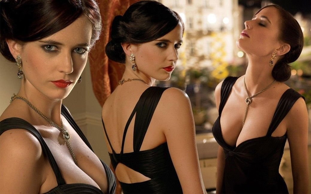 Eva Green Actor Star Art 32x24 Poster Decor