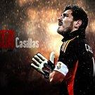 Iker Casillas Football Star Art 32x24 Poster Decor
