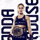 Ronda Rousey Art 32x24 Poster Decor