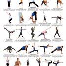 Yoga Ashtanga Art 32x24 Poster Decor