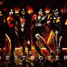 KISS Band Heavy Art 32x24 Poster Decor