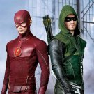 The Flash Arrow TV Show Art 32x24 Poster Decor
