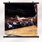 Dennis Rodman Poster With Wall Scroll Decor