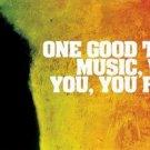 Bob Marley Pop Singer Songwriter Art 32x24 Poster Decor