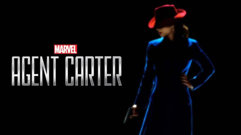 Agent Carter TV Show Art 32x24 Poster Decor