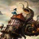 Alice Madness Returns Game Art 32x24 Poster Decor