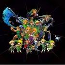 The Legend Of Zelda 25th Art 32x24 Poster Decor