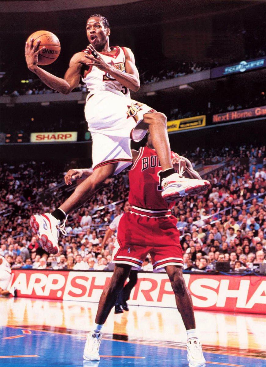 Allen Iverson Basketball Star Art 32x24 Poster Decor