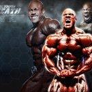 Phil Heath Bodybuilders Art 32x24 Poster Decor