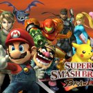Super Smash Bros Brawl Art 32x24 Poster Decor