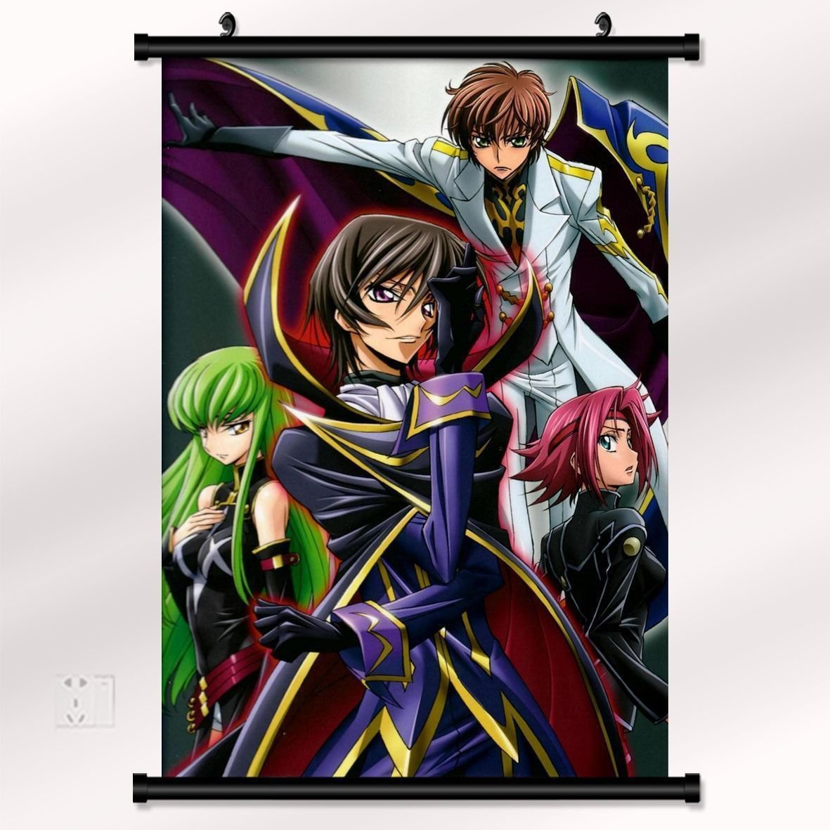 Code Geass Game Poster With Wall Scroll Decor